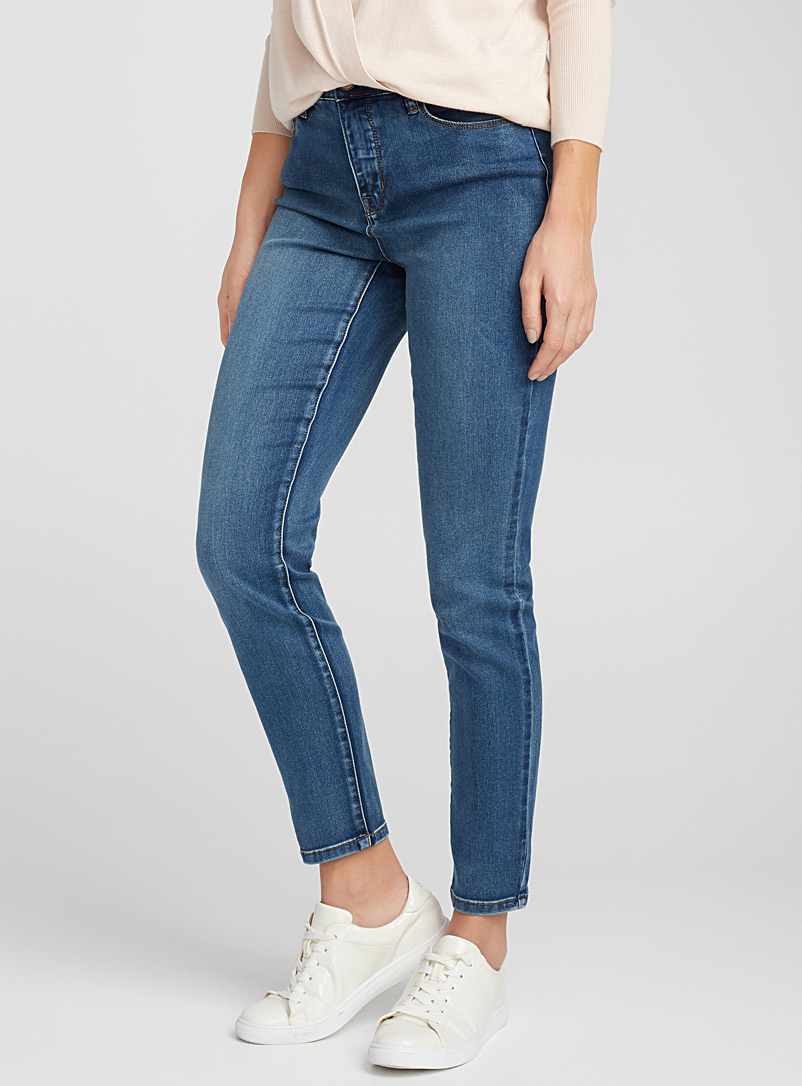 Dream stretch skinny jean - High Rise - Blue