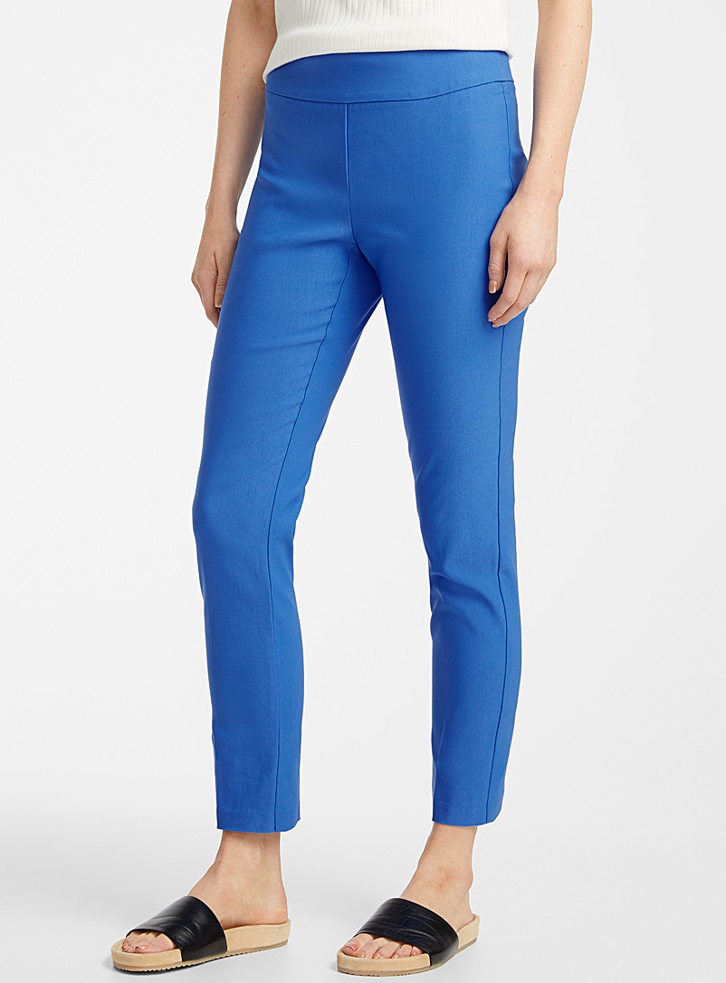 Contemporaine Blue Essential slim pull-on pant for women