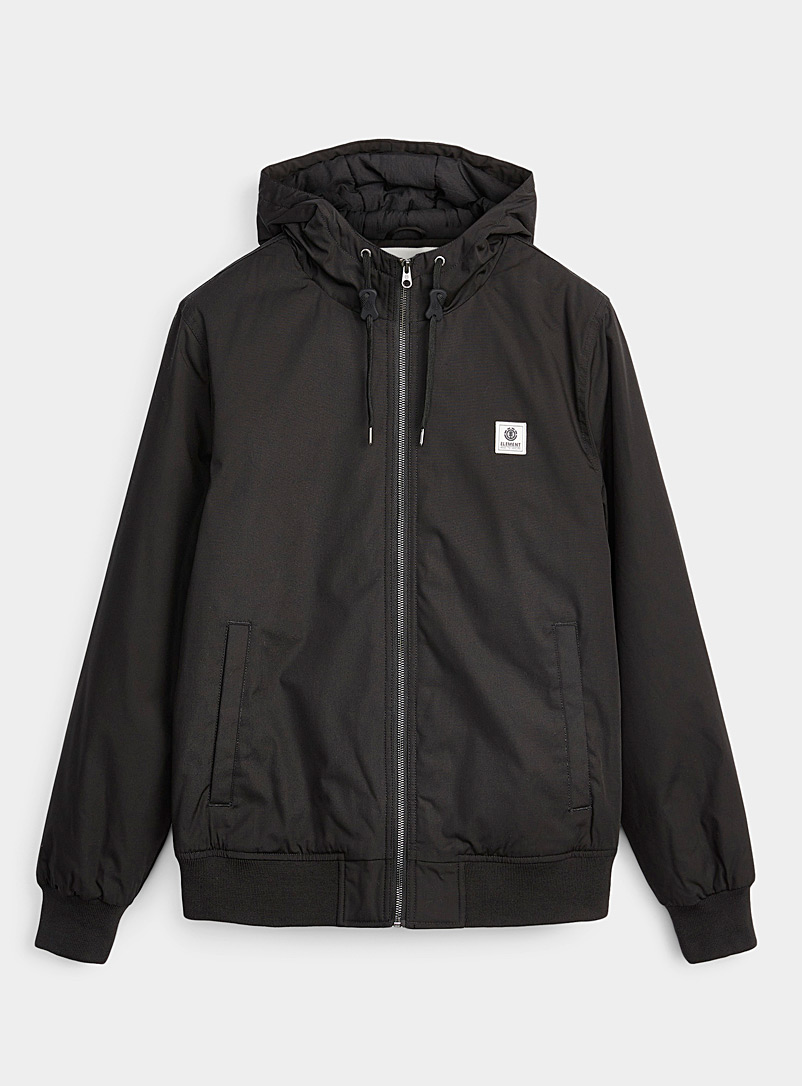 Element Black Dulcey bomber jacket for men