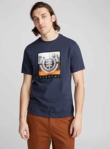 City over forest photo T-shirt