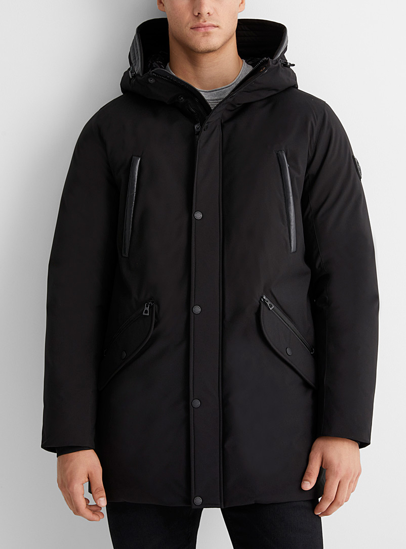 Rudsak Black Arnold down parka for men