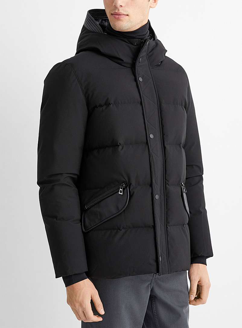 Rudsak Black Dash down parka for men
