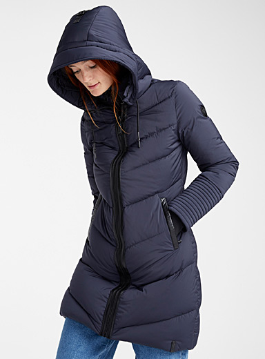 Mya multi-quilted puffer jacket