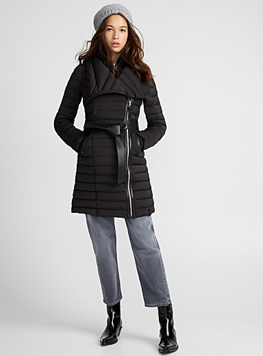 Magma quilted coat