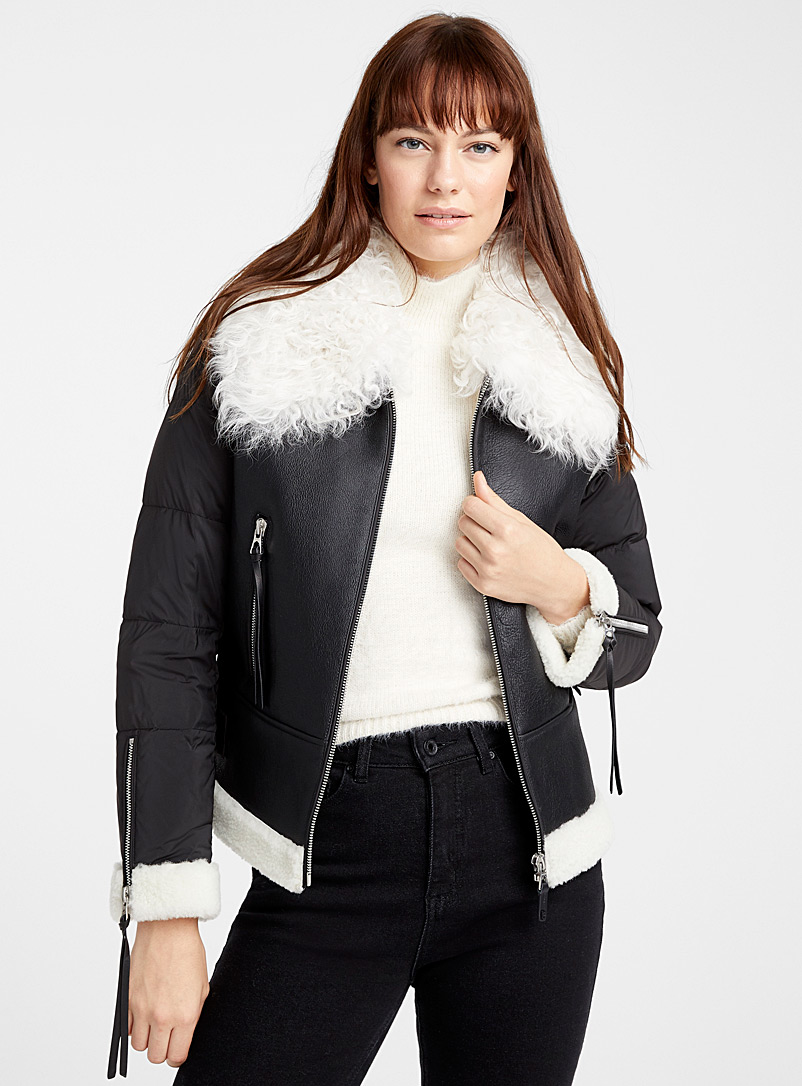 quilted-sleeve-shearling-jacket