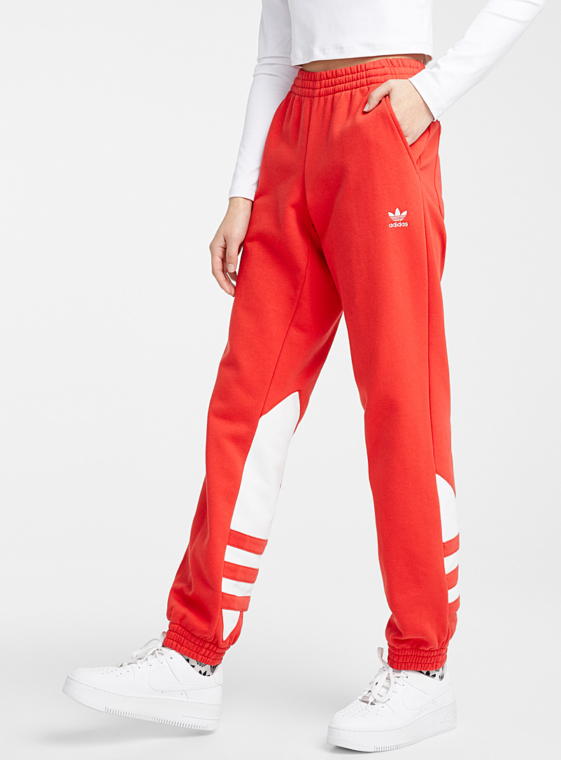 le-jogger-sweat-rouge-logo