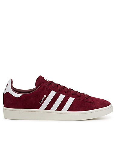 Burgundy Campus sneakers  Men