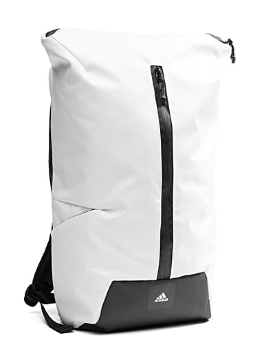 Coated-style backpack