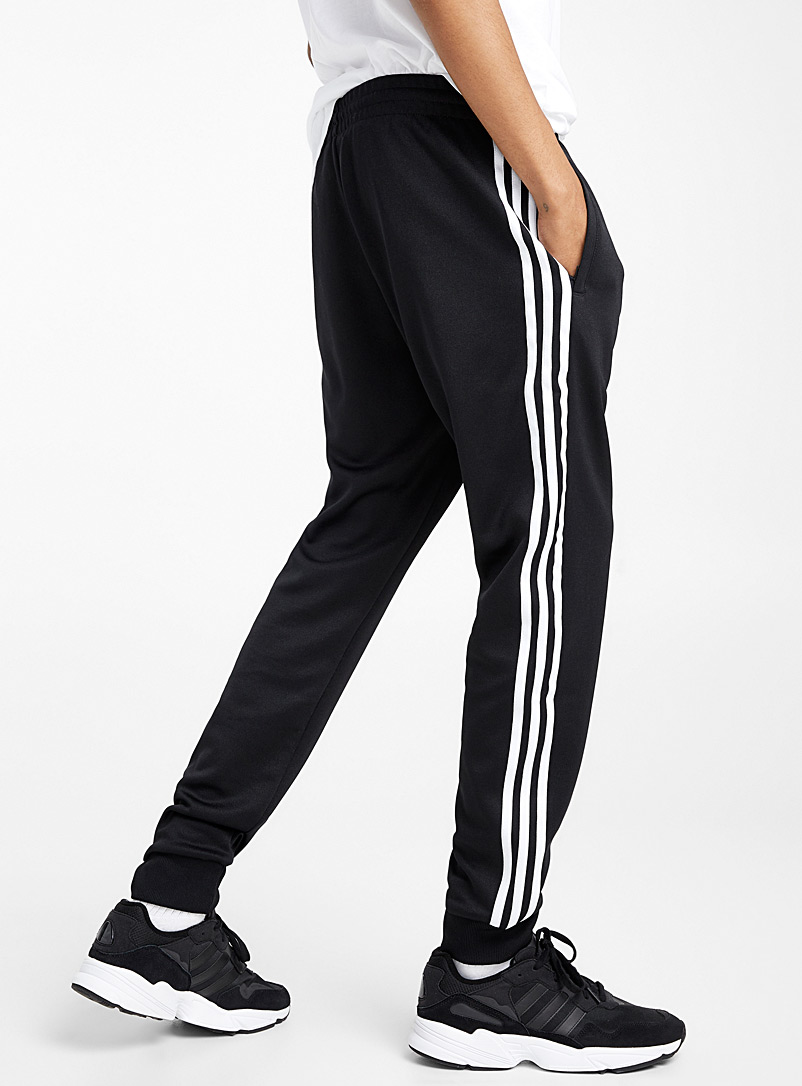 SST three-stripe track pant - Joggers - Patterned Black