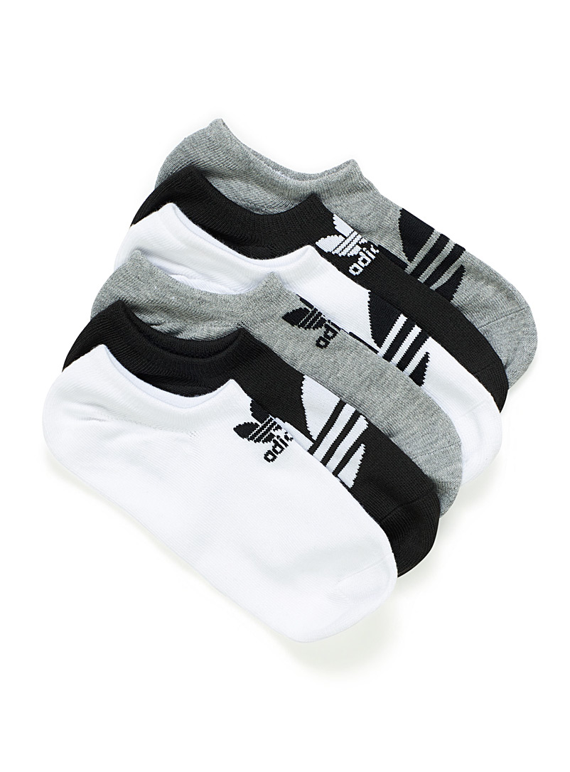 Adidas Originals Black Sneaker ped sock 6-pack for men