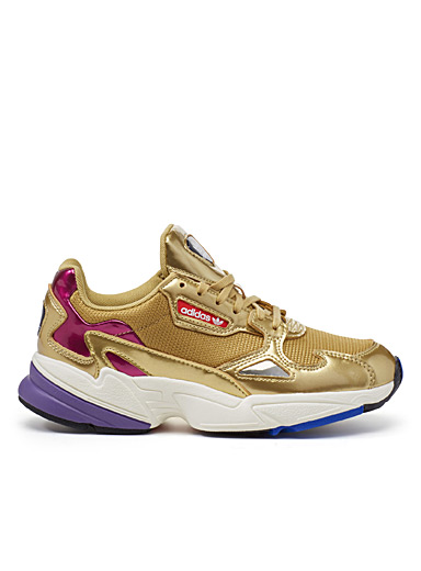 Falcon Gold chunky sneakers <br>Women