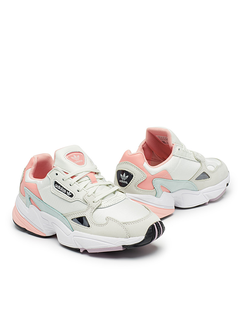 Pastel Falcon chunky sneakers  Women - Sneakers - Patterned White