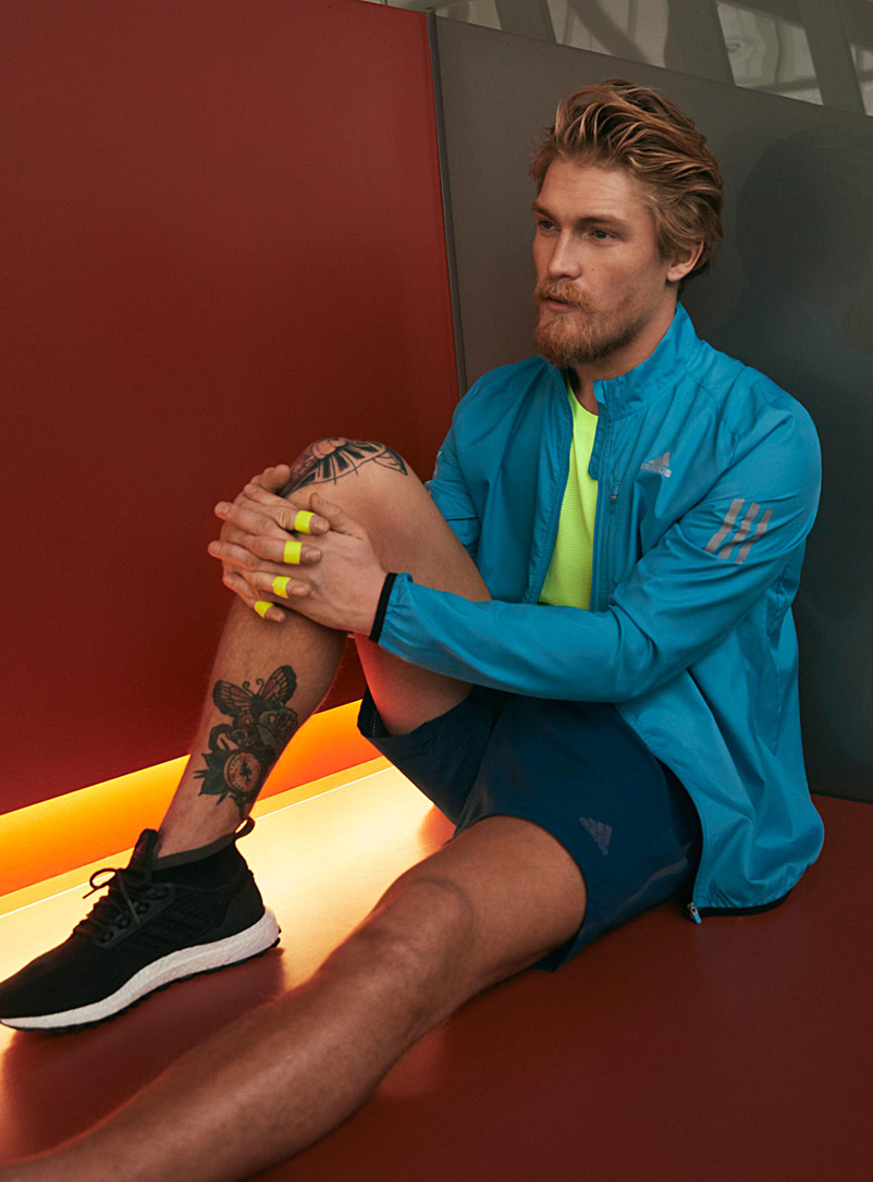 Own The Run jacket - Jackets & vests - Baby Blue