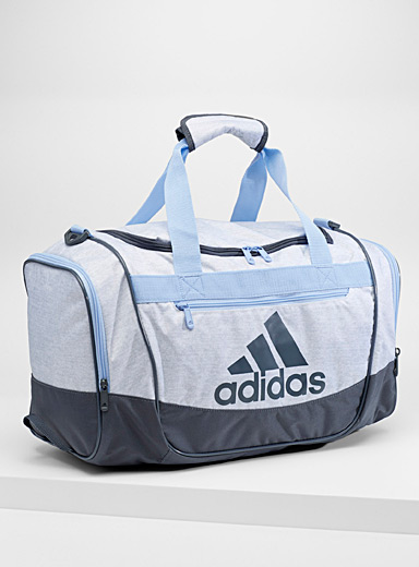 Defender pastel blue duffle bag