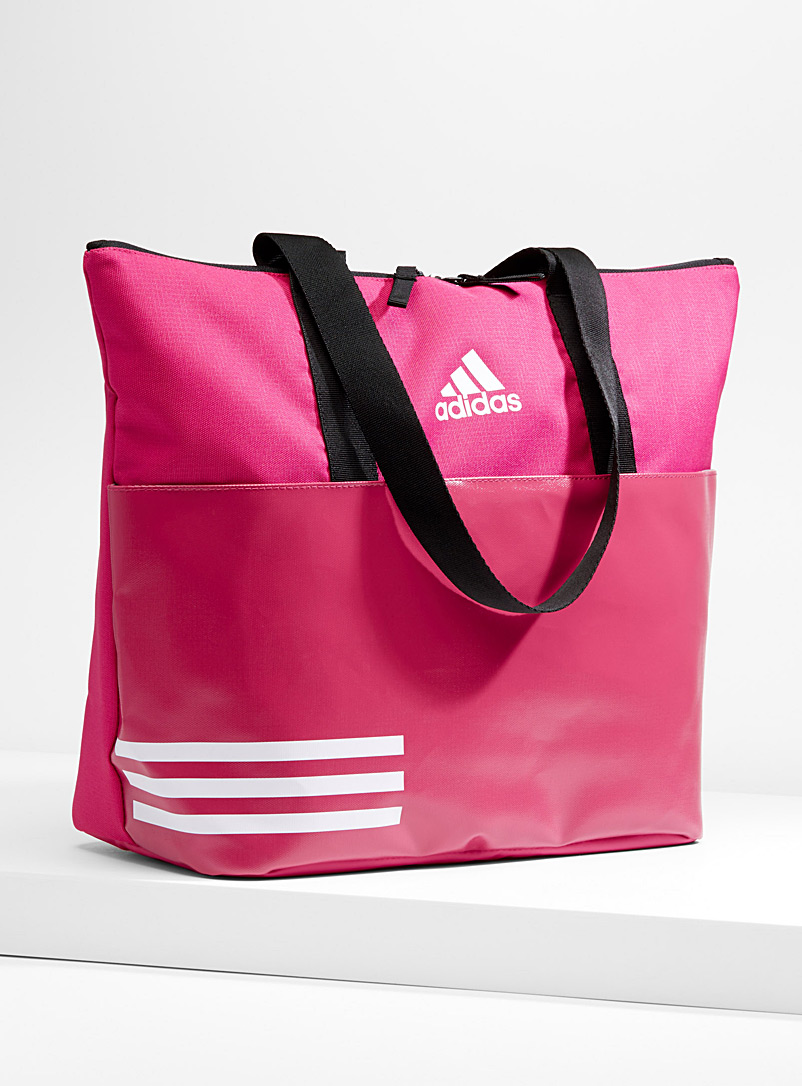 3-stripes-fuchsia-tote-bag