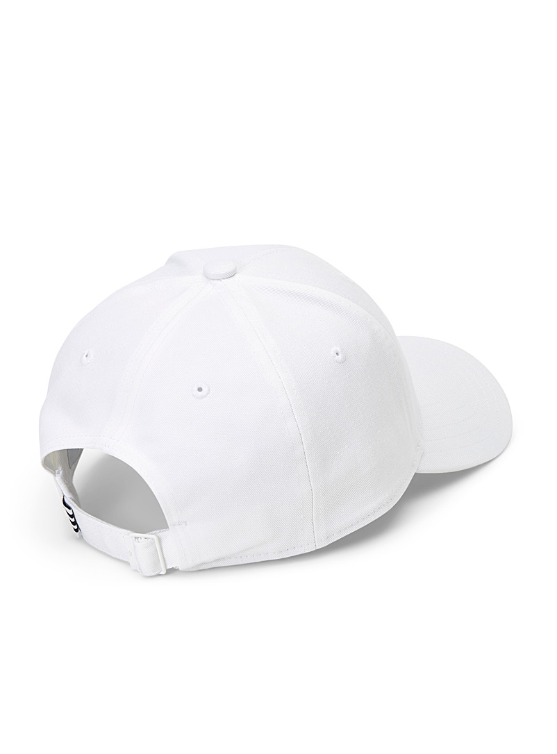 Embossed logo baseball cap - Caps - White