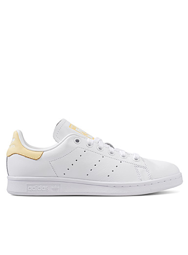 Adidas Originals Medium Yellow Stan Smith yellow accent sneakers  Women for women