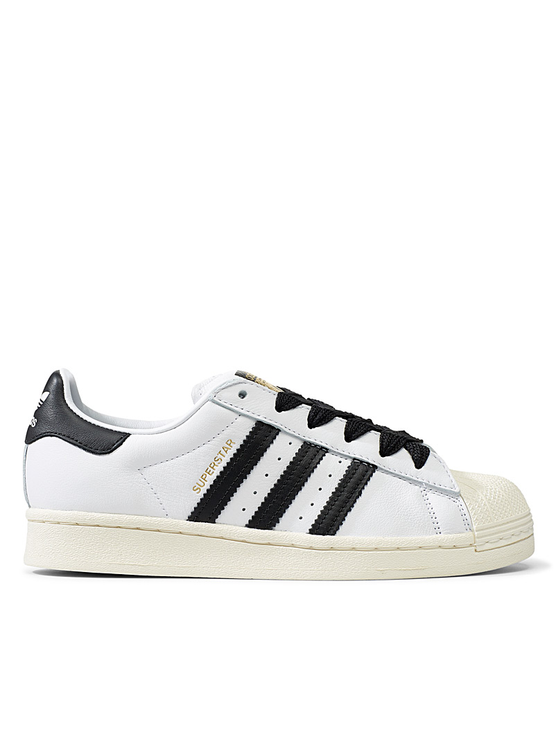 Adidas Originals White Superstar Laceless sneakers for women