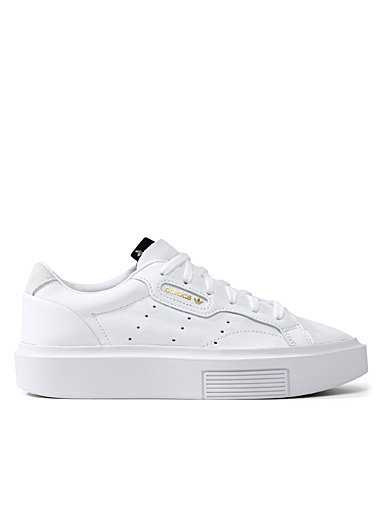 Sleek Super white sneakers <br>Women