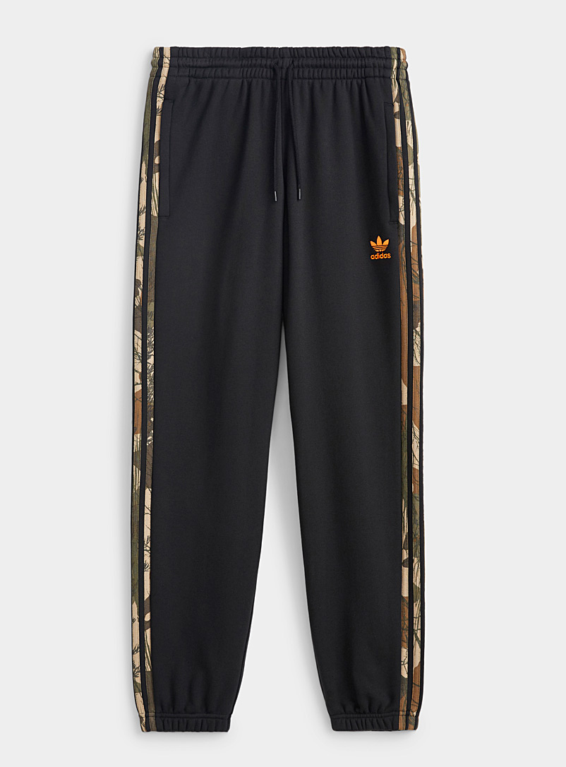 Adidas Originals Black Camo band sweatpant for men