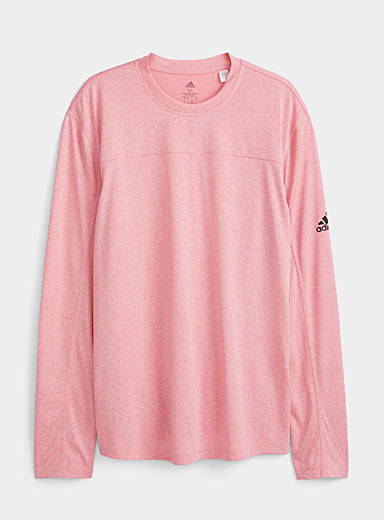 Adidas Pink Coral recycled fiber T-shirt for men