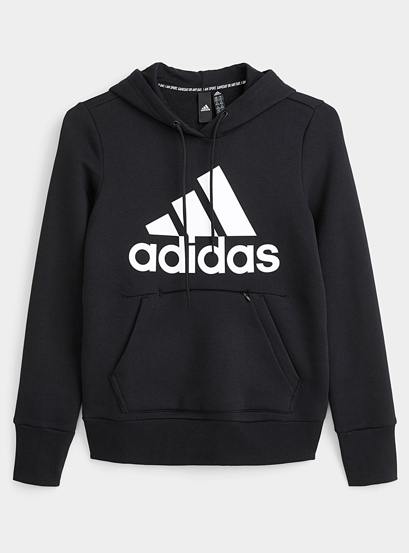 Le sweat à capuche logo