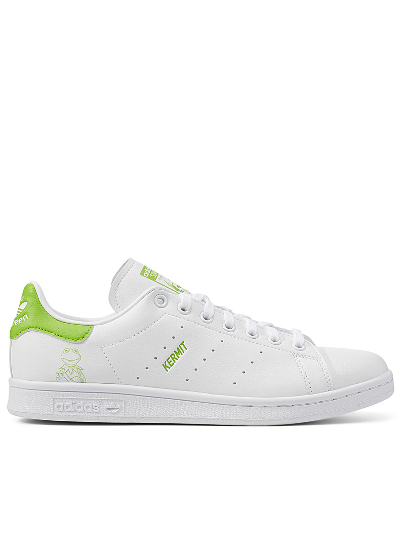 Adidas Originals White Kermit Primegreen Stan Smith sneakers Men for men