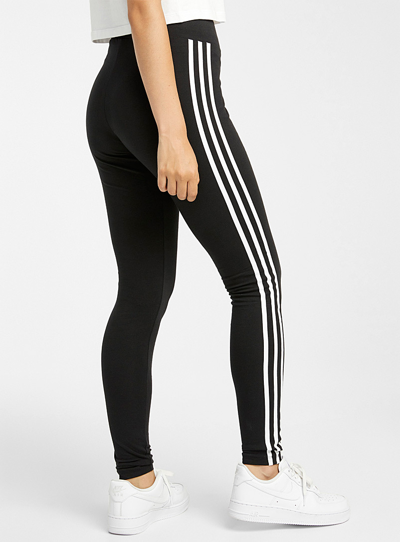 Three stripe legging - Leggings - Black