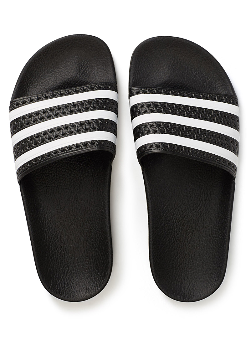 Adidas Originals White Adilette slides  Women for women