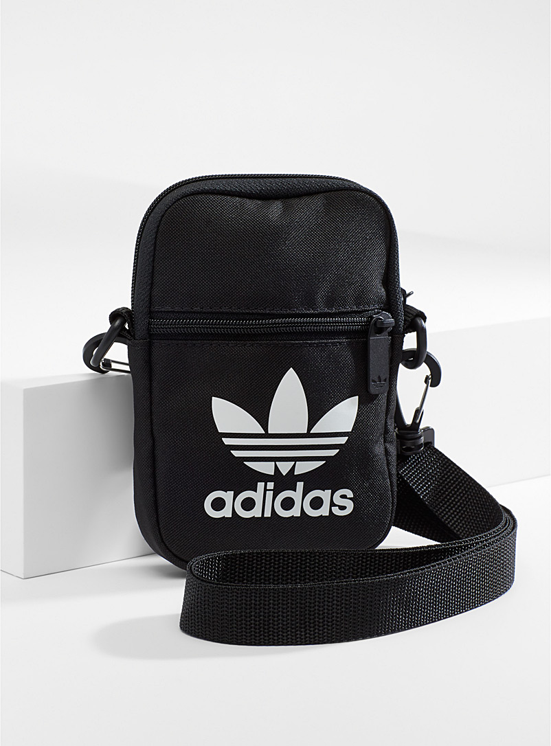 Adidas Originals Black Festival shoulder bag for women