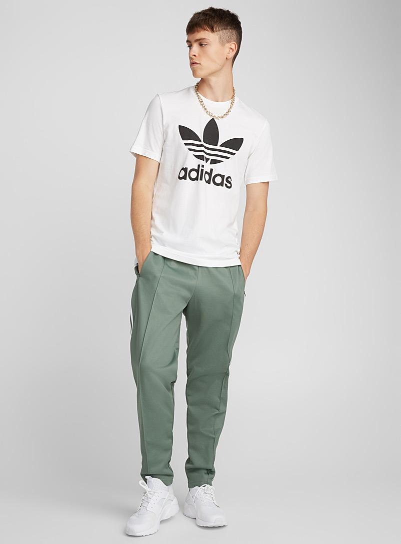Adidas Originals White Originals Trefoil T-shirt for men