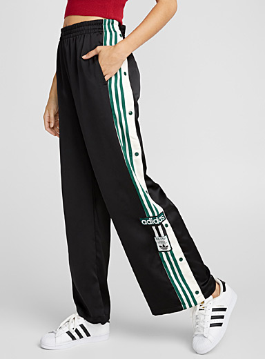 Satiny sporty pant