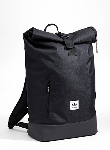 Minimalist roll-top backpack