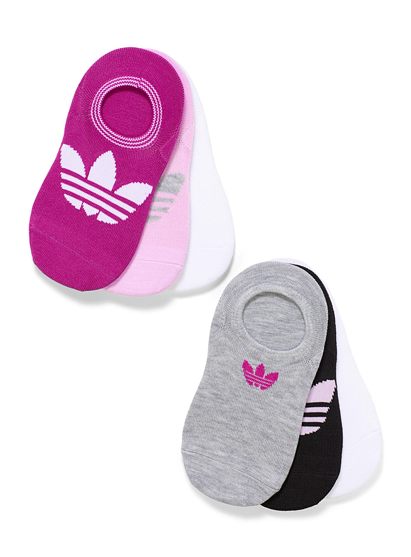 Adidas Originals Assorted Essential logo foot liners  Set of 6 for women