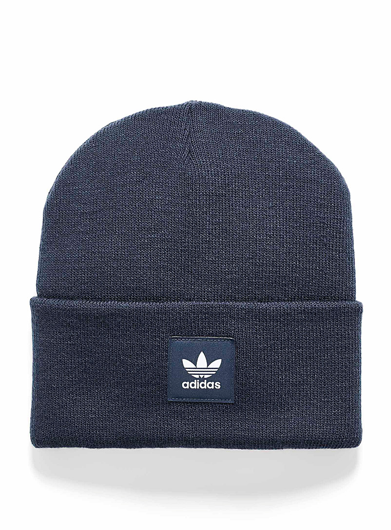 Adidas Originals Marine Blue Adicolor tuque for women