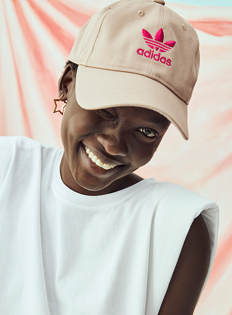 Adidas Originals Honey Trefoil logo baseball cap for women