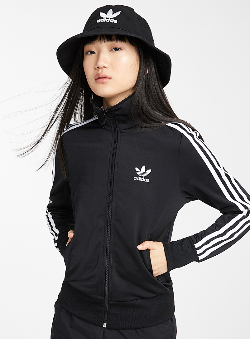Adidas Originals Black Firebird track jacket for women