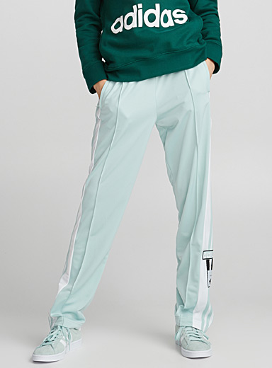 Accent stripe track pant