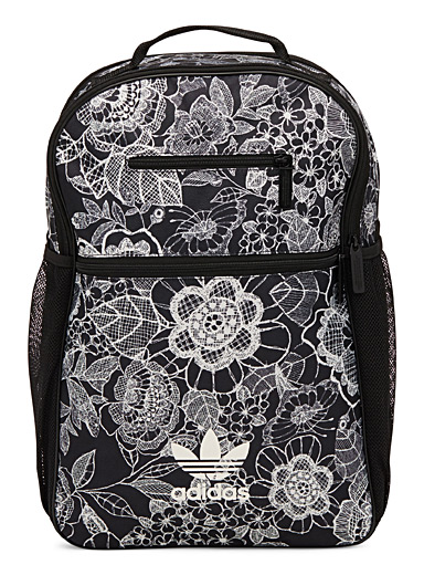 Floral sketch backpack