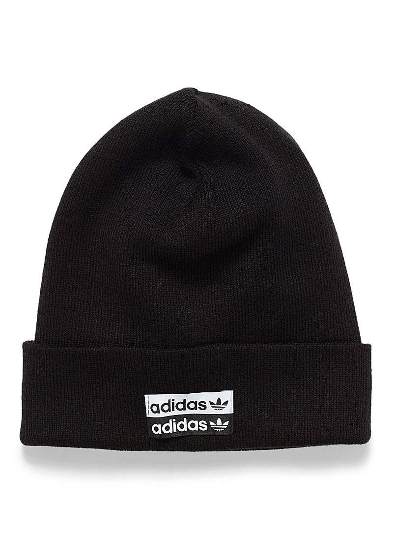 2d04c3f6 Shoptagr | Reversed Colour Logo Tuque by Adidas Originals