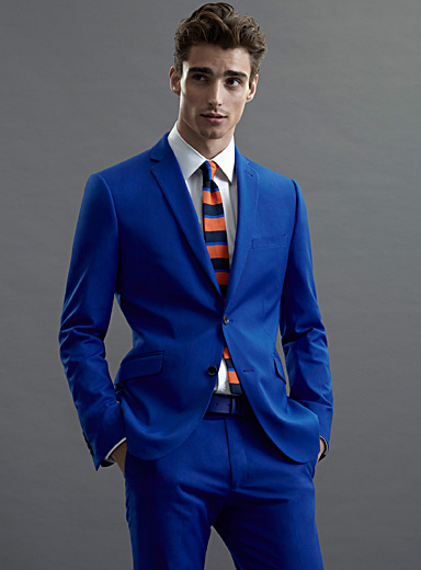 Klein Blue jacket  Semi-slim fit