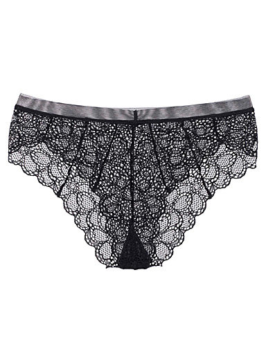 Superior lace Brazilian panty