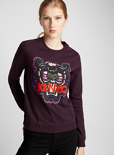 Le sweat Tiger brodé