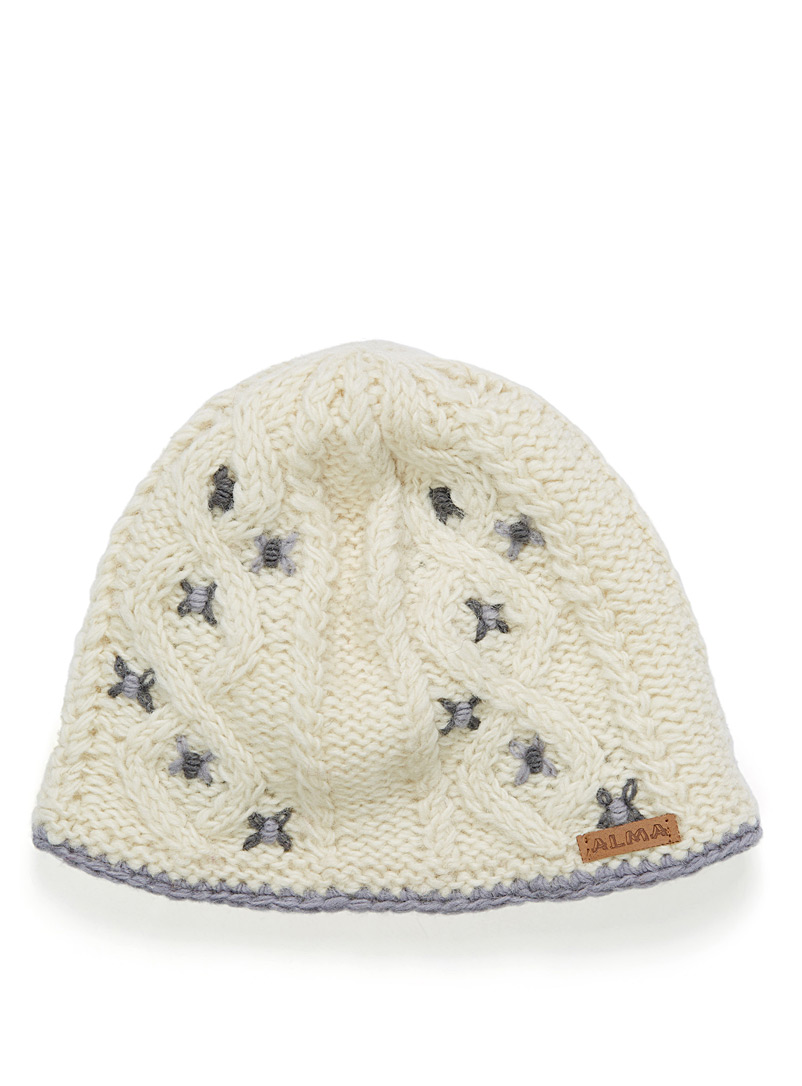 embellished-knit-tuque