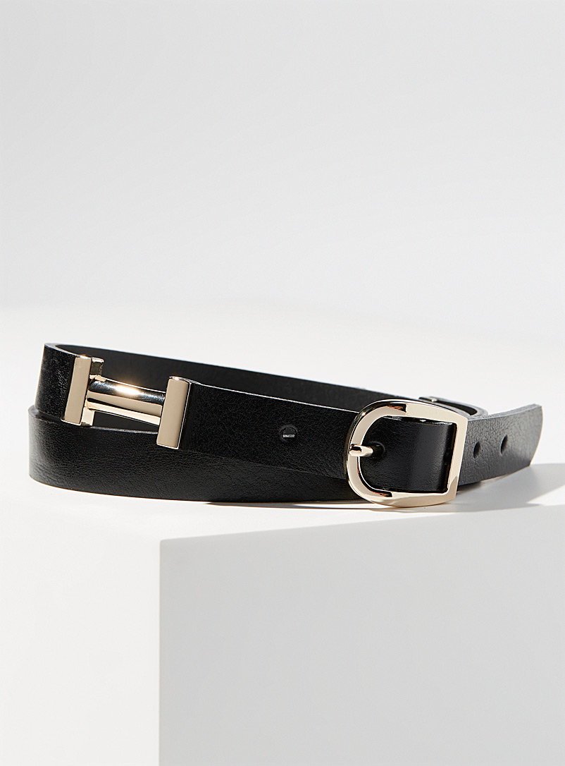 Thin golden-insert belt