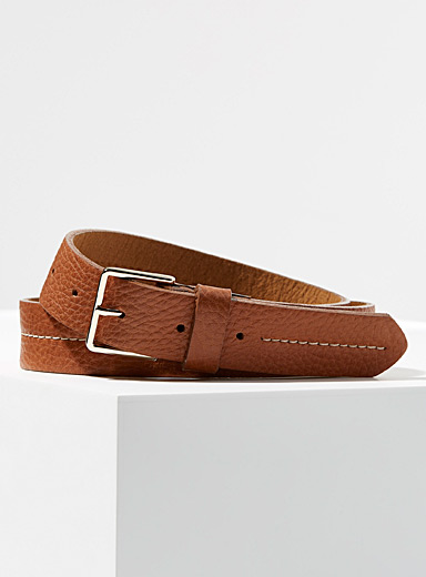 Accent-stitched belt