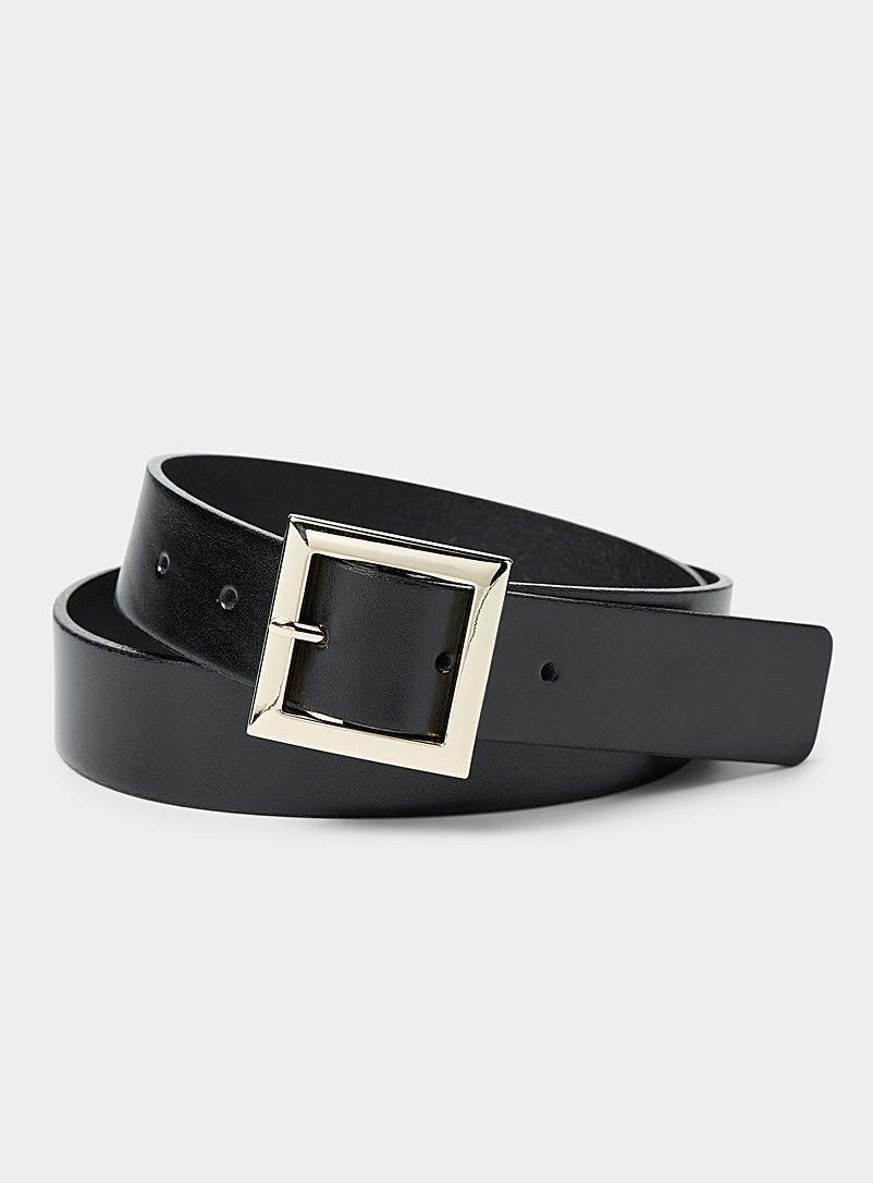 Simons Oxford Square buckle belt for women