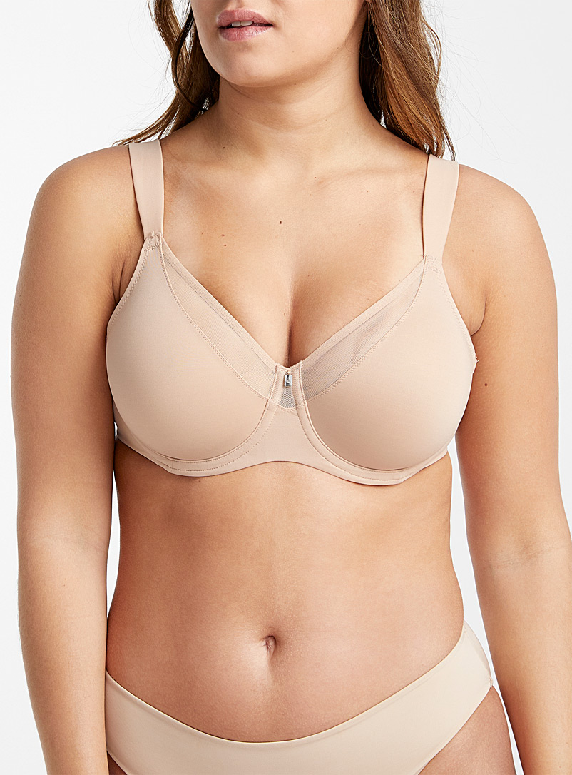 Triumph Tan True Shape Sensation full coverage bra for women