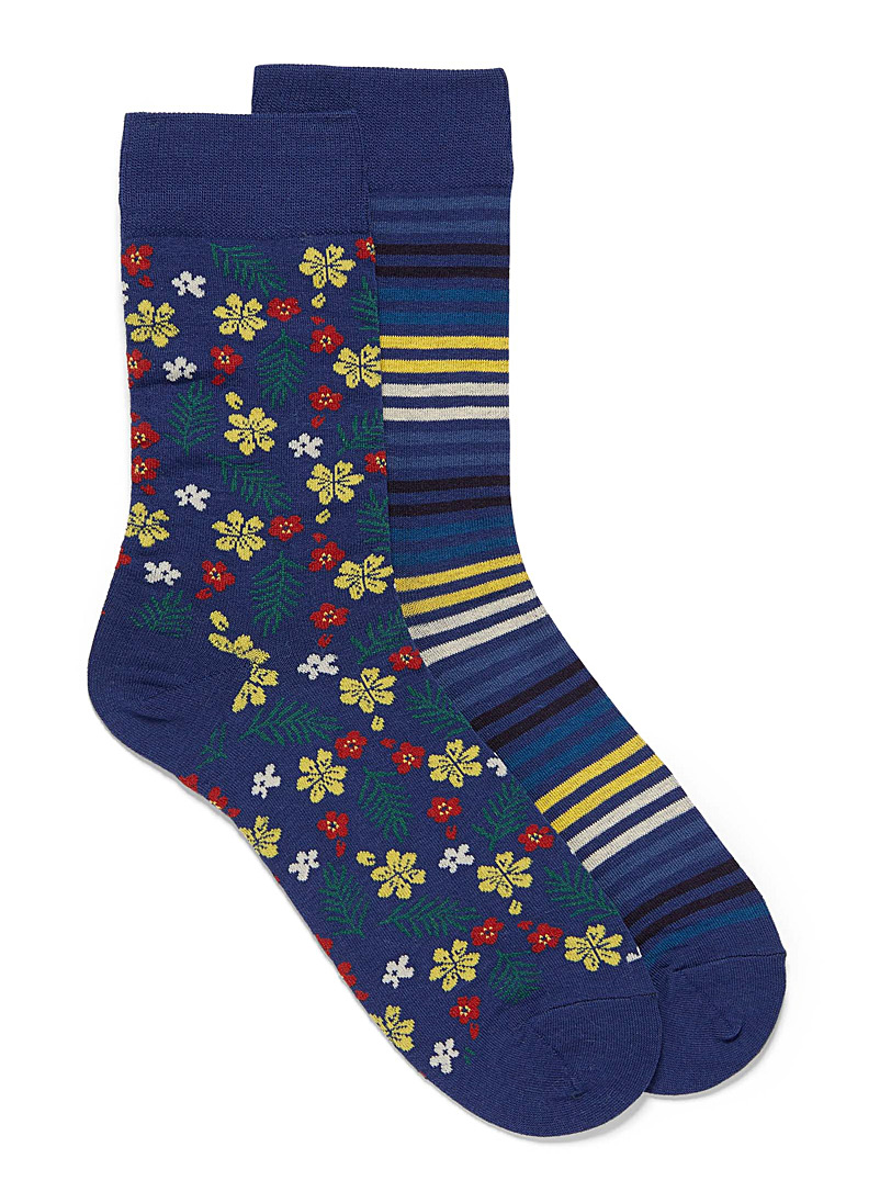 flowers-and-stripes-sock-2-pack