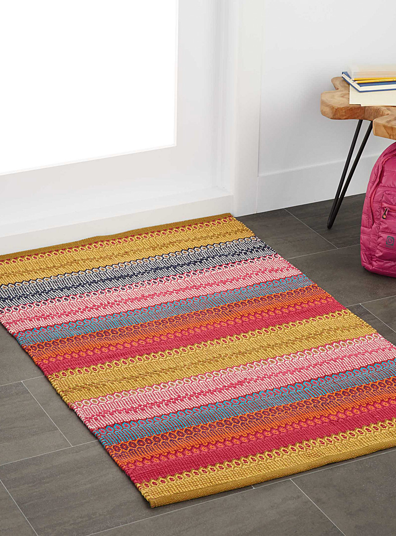 Bohemia stripe rug  90 x 130 cm - Small Rugs - Assorted
